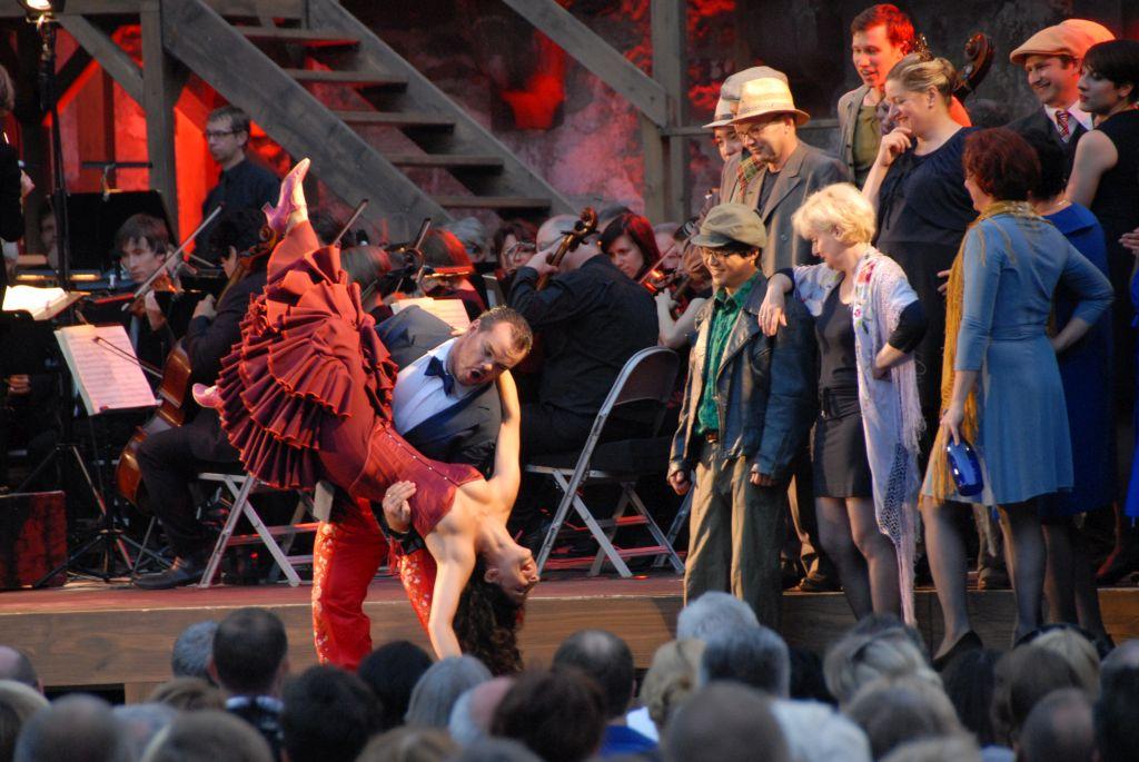 Carmen / Schlossfestspiele Heidelberg / Foto: