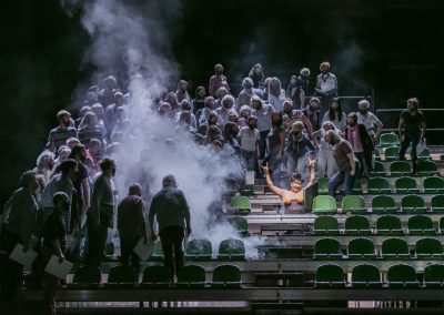 Combattimento di Tancredi e Clorinda & Carmina Burana / 2017, Theater Lübeck / Foto: Jochen Quast